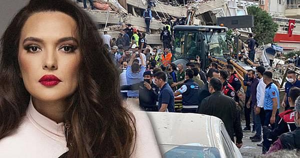 Ünlü isimlerden İzmir depremi paylaşımları!