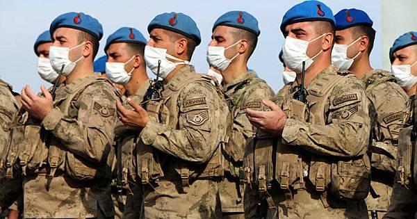 Kahramanlar Suriye'ye böyle uğurlandı...