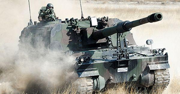 T-155 FIRTINA Obüsü