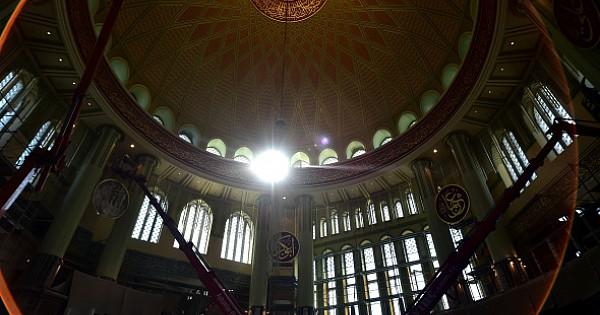 Taksim Camii Ramazan'a hazırlanıyor