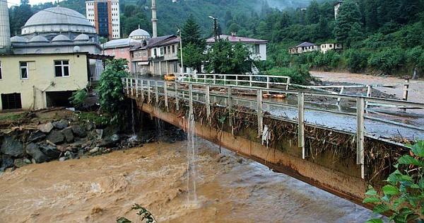 Rize'deki Sel Felaketinin Boyutu Gün Ağarınca Ortaya Çıktı!