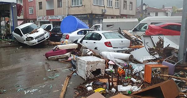 Kastamonu'da sel felaketinin boyutu gün ağarınca ortaya çıktı