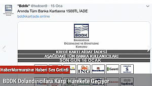 BDDK Dolandırıcılara Karşı Harekete Geçiyor