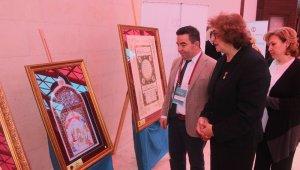 'Tezhip ve minyatürle Türk Dünyası Dünyamız' sergisi