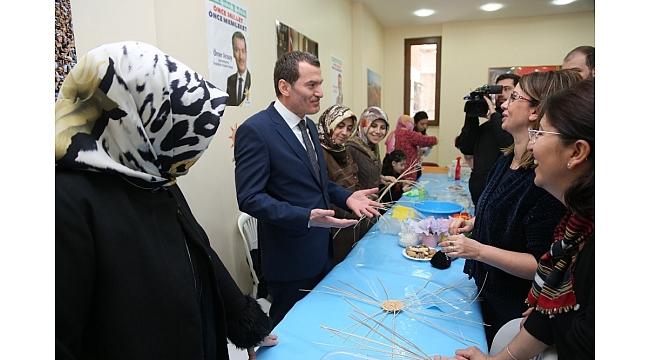 """AK Parti Zeytinburnu Adayı Arısoy : """"Kadınlara özel sportif yaşam merkezi hayal ediyoruz"""""""