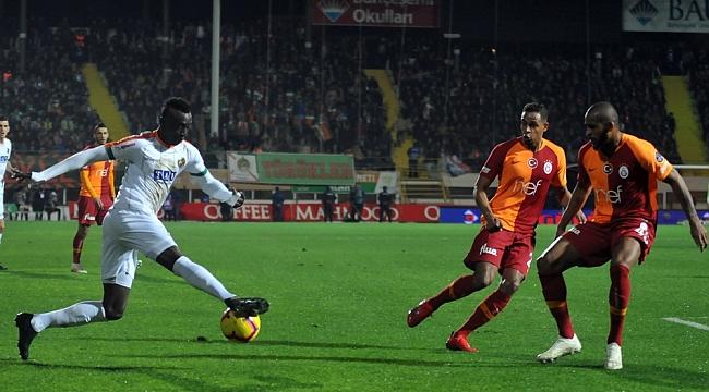 Alanyaspor 1-1 Galatasaray