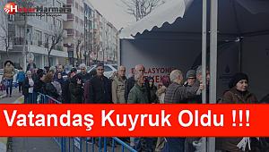 AVCILAR'DA 'TANZİM SATIŞ' BAŞLADI !!!