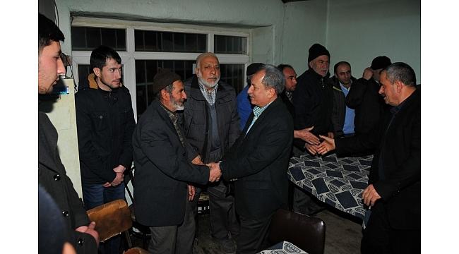 Başkan Akkaya yerel seçim çalışmalarını sürdürüyor