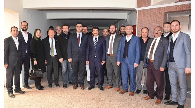Başkan Çelik'ten Hak-İş ve Türk-İş'e ziyaret