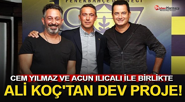 Ali Koç'tan 300 Milyonluk Dev Hamle!