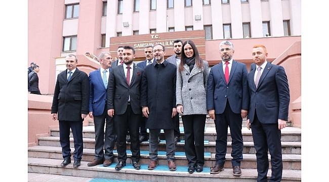 """Bakan Kasapoğlu: """"İslamın nurunu hiçbir güç hiçbir zaman söndüremez"""""""