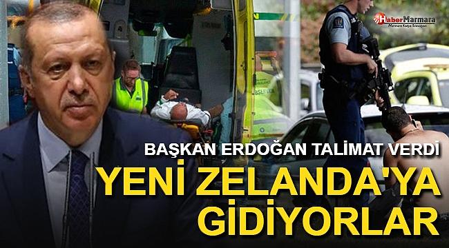 Başkan Erdoğan Talimat Verdi Yeni Zelanda'ya Gidiyorlar