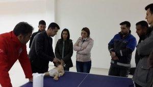 AFAD personeline ilk yardım eğitimi