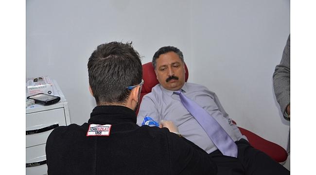 Anadolu Selçuklu Ocaklarından kan bağışı
