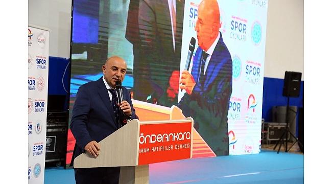 """Başkan Turgut Altınok: """"Sağlıklı toplumun, huzurlu yaşamın temelinde spor vardır"""""""