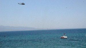Bodrum'da göçmen teknesi battı: 1 kayıp