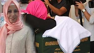 6 Yaşındaki Kızının Gözü Önünde Vurulan Tuğba'ya Veda!