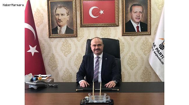 """AK Parti'li Mersinli: """"AK Parti, Türkiye'nin milletimizin taleplerinden doğmuştur"""""""