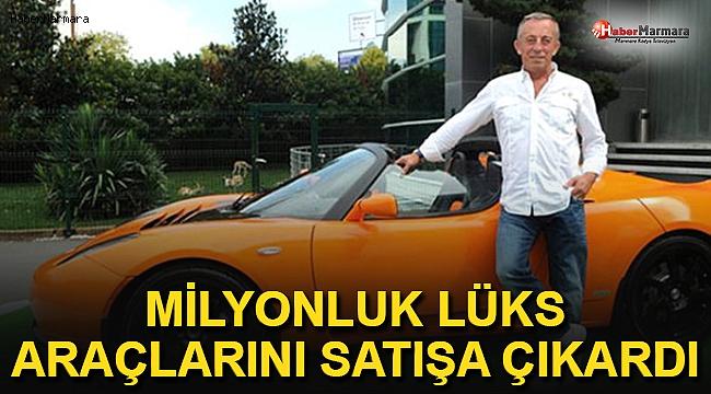 Ali Ağaoğlu, Milyonluk Lüks Araçlarını Satışa Çıkardı