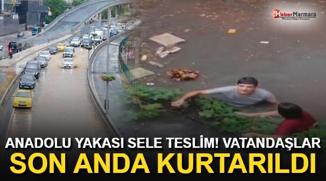 Ataşehir'de Su Baskınında Can Pazarı!