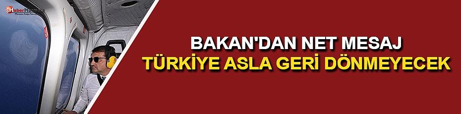 Bakan Dönmez: Türkiye Davasından Asla Geri Dönmeyecek