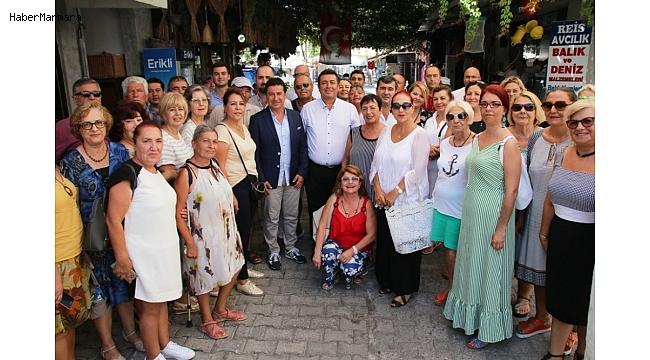"""Başkan Aras; """"Yaptığımız işler, tüm Türkiye'de takip ediliyor"""""""