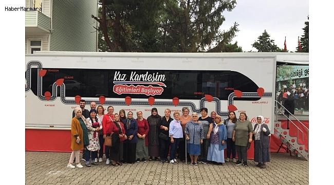 'Kız Kardeşim Eğitim Tırı' Ordulu kadınlarla buluştu