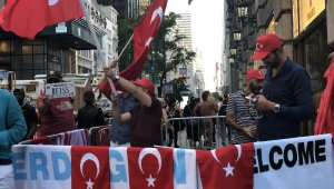 ABD'de Türkler Erdoğan'ı bekliyor