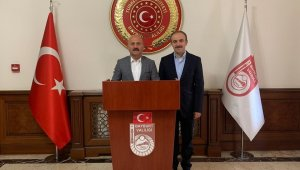Amasya Valisi Osman Varol, Vali Cüneyt Epcim'i ziyaret etti