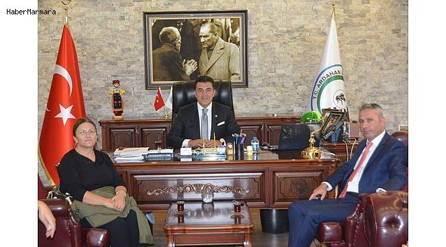 Ardahan Barosu'ndan Başkan Demir'e ziyaret