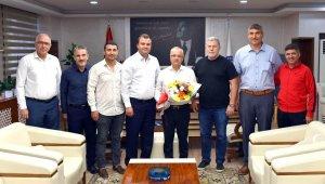 Başkan Kayda, kulüp yönetimini ağırladı