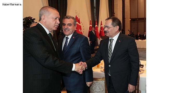 "Başkan Mustafa Demir: ""Cumhurbaşkanımız moral verdi"""