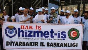 BEM BİR-SEN'den HDP'li belediyenin işten çıkardığı işçilere destek