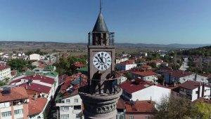 130 yıllık saat kurtarıldı