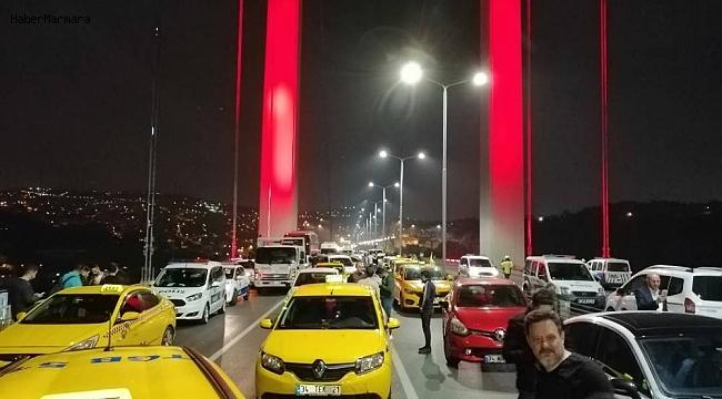 15 Temmuz Şehitler Köprüsünde Silahlı Eylem