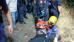 200 metrelik uçurumdan yuvarlandılar: 1 ölü, 2 yaralı
