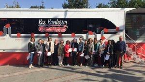 'Kız Kardeşim Eğitim Tırı' Ispartalı kadınlarla buluştu