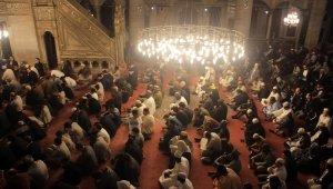 Afrikalı dini liderler Eyüpsultan Camisinde namaz kıldı