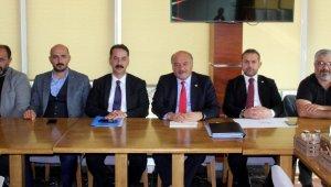 AK Parti Erzincan Milletvekilleri Karaman ve Çakır, gazetecilerle bir araya geldi