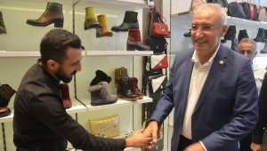 AK Parti Malatya Milletvekili Hakan Kahtalı, esnafları ziyaretti