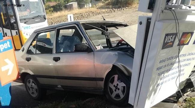 Akçadağ'da trafik kazası: 1 yaralı