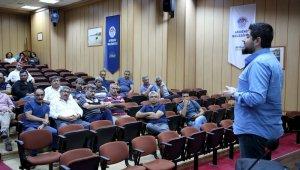 Akdeniz Belediyesi personeline 'iş sağlığı ve güvenliği' eğitimi