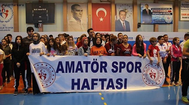 Amatör Spor Haftası kapanış programı düzenlendi