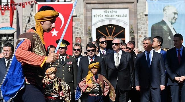 Ankara'nın başkent oluşunun 96. yılı kutlandı