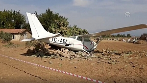 Antalya'da Eğitim Uçağı Düştü!