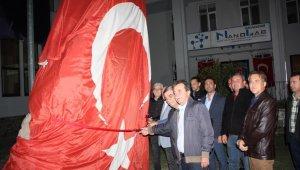 Atatürk Büstü yeni yerinde
