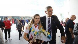 Avrupa Şampiyonu Kadın Milli Golbol Takımı Ankara'ya geldi