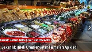 Bakanlık Hileli Ürünler Satan Firmaları Açıkladı
