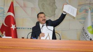 Balıkesir Büyükşehir Belediye Başkanından satışlarla ilgili açıklama