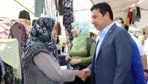 Başkan Aras, Gölköy'e Müjdeli haberle gitti